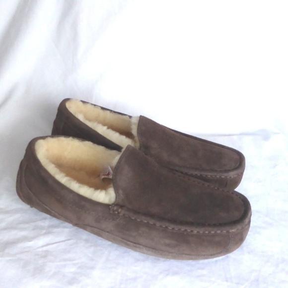 1537e6915b0 NEW UGG Ascot Espresso Loafer Slipper
